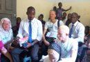 Campagne de sensibilisation pour la protection des droits et pour favoriser l'insertion sociale des personnes atteintes d'albinisme.
