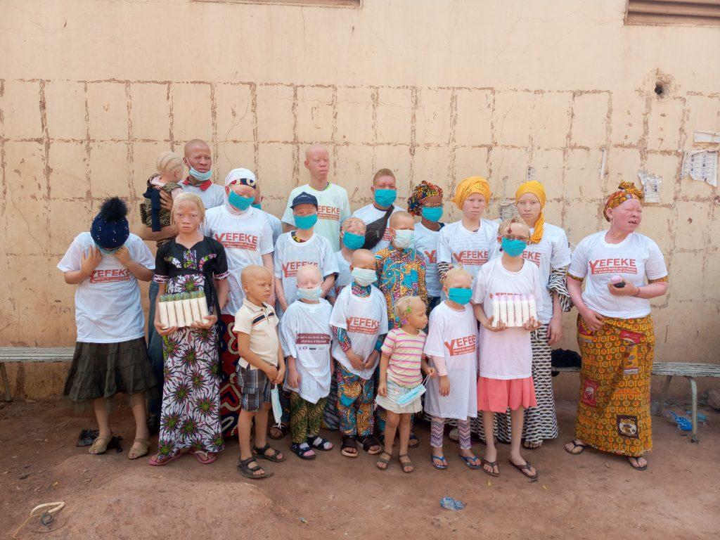 Campagne de recensement et collecte des données des personnes atteintes d'albinisme dans le district de Bamako